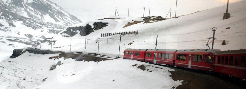 itinerario giornata sul Trenino Rosso del Bernina