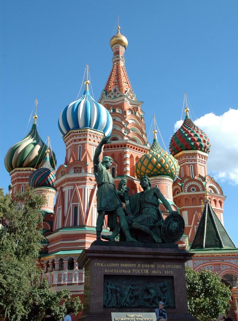 cosa vedere sulla crociera in Russia mosca piazza rossa