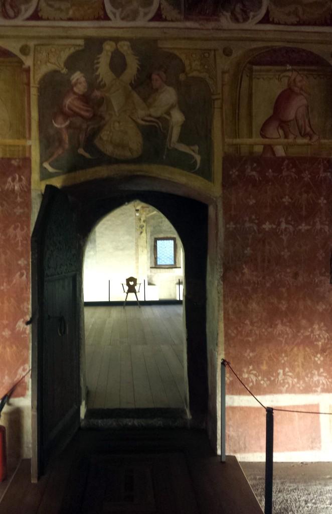 affreschi castel roncolo