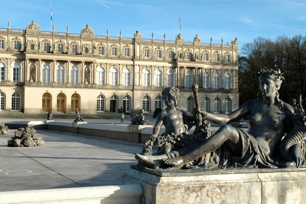 herrenchiemsee facciata palazzo