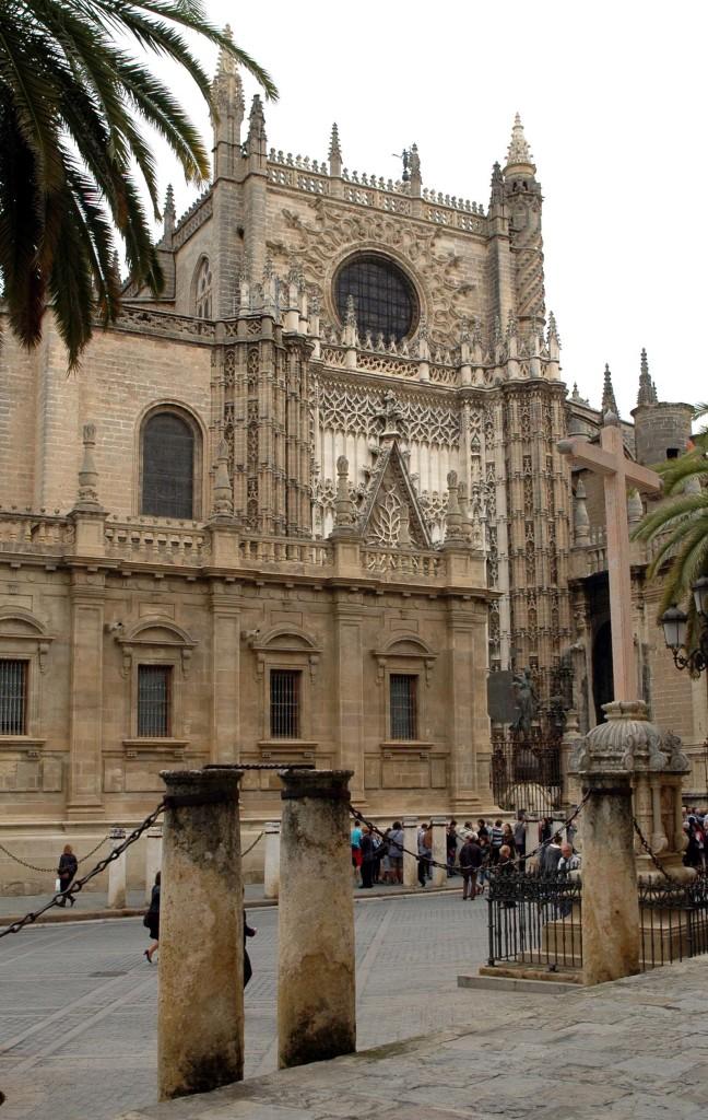 esterno cattedrale siviglia