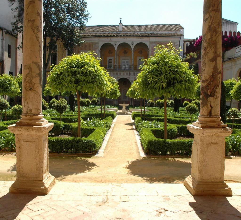 giardino rinascimentale casa de pilatos