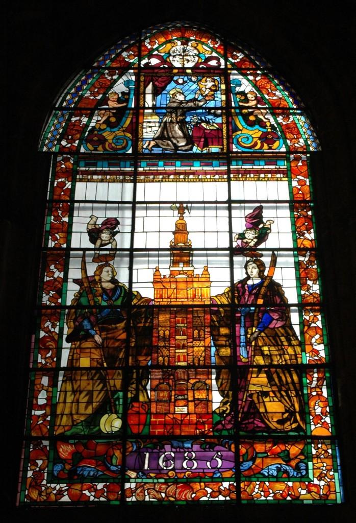 vetrata cattedrale siviglia