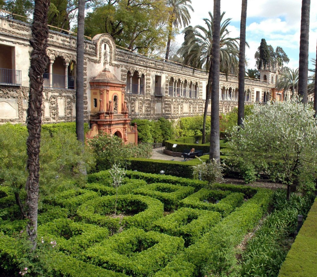 giardini real alcazar