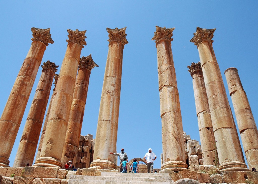 tempio artemide jerash