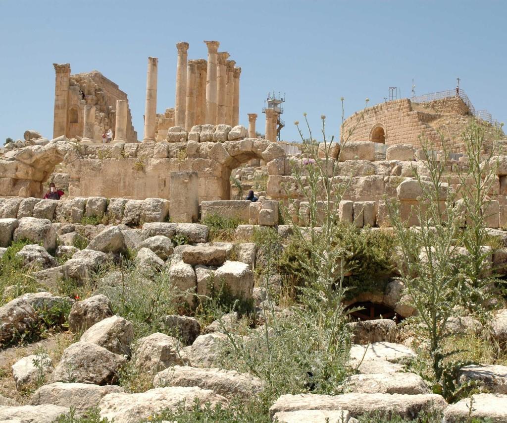 tempio zeus jerash
