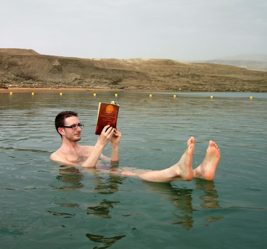 galleggiamento mar morto