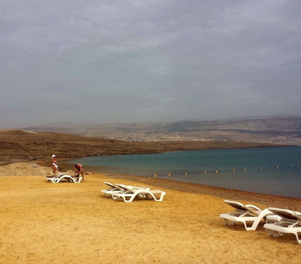spiaggia mar morto