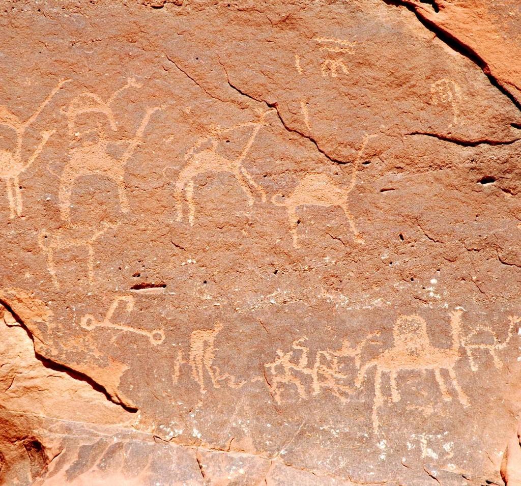 wadi rum incisioni rupestri