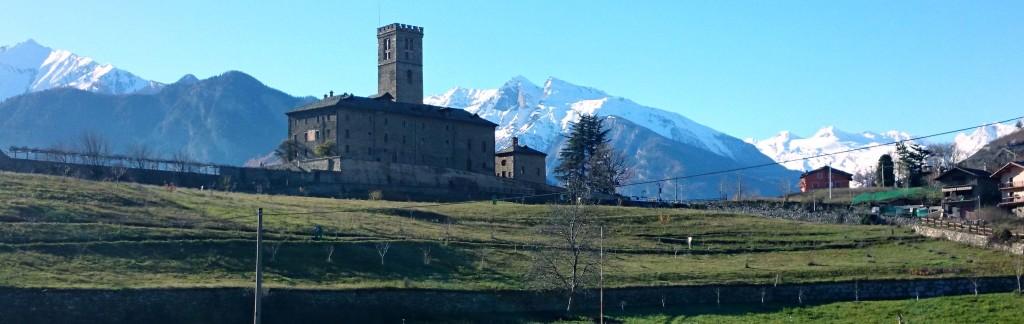 Castello Reale di Sarre esterno