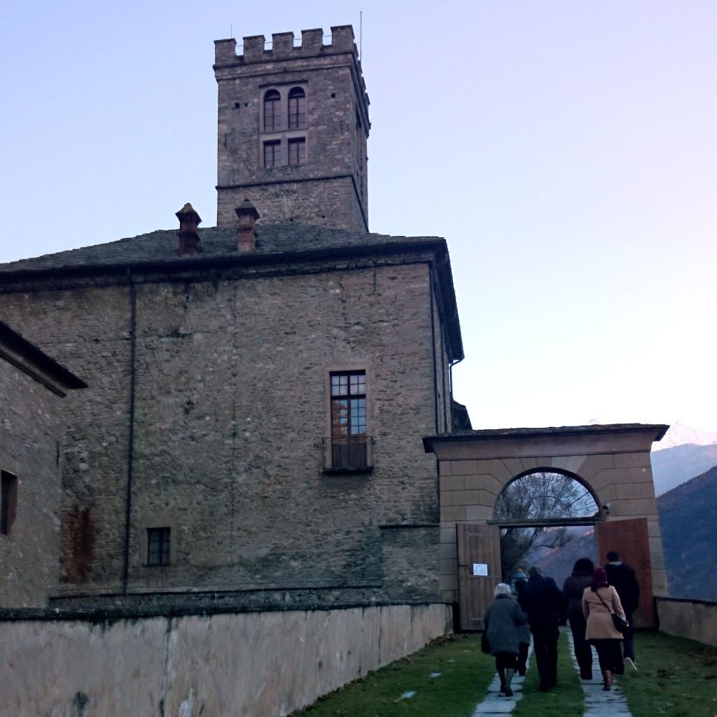 Castello Reale di Sarre ingresso