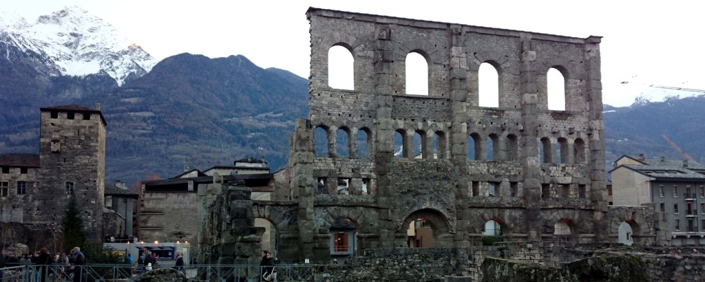 aosta rovine romane