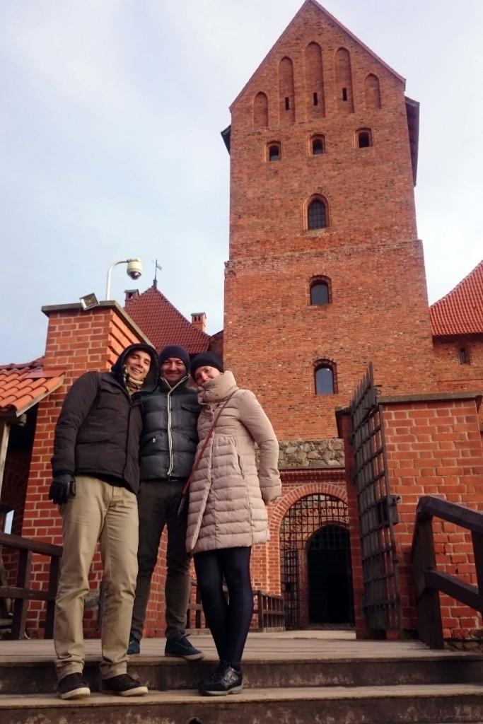 castello trakai interno