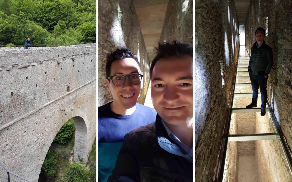 acquedotto romano pont d'ael aosta tusoperator