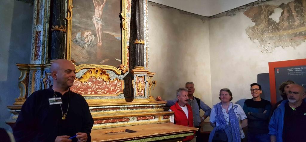 castello sarriod de la tour visita guidata tusoperator