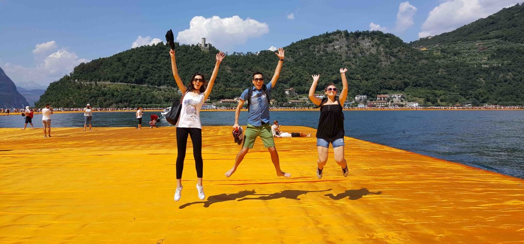 floating piers christo tusopreator