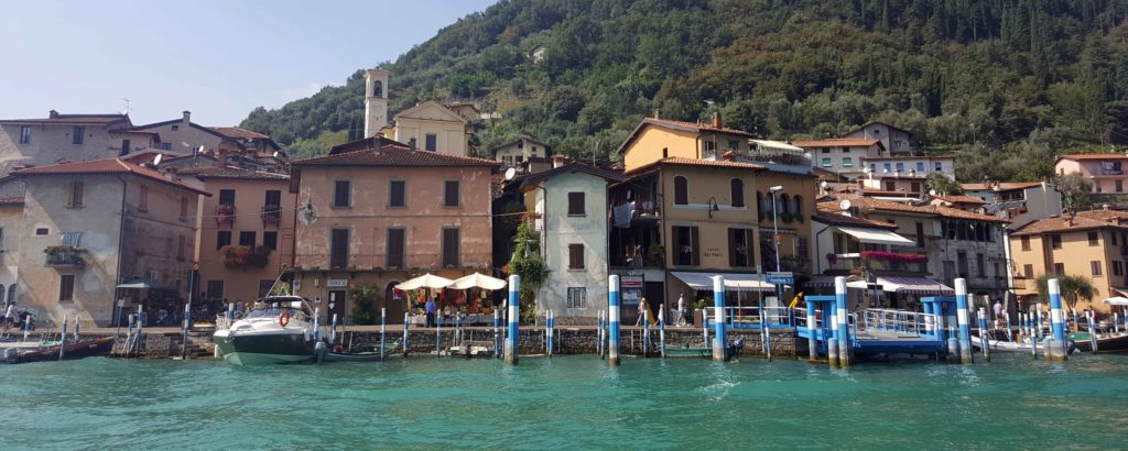 ITINERARIO IN BARCA O IN GOMMONE SUL LAGO D'ISEO