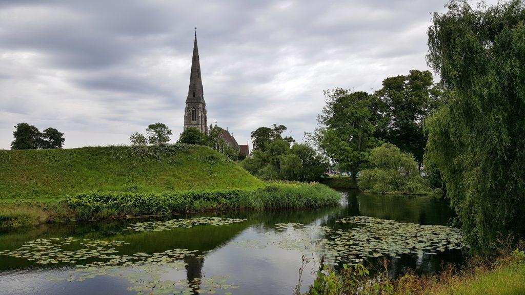 Il parco di Kastellet a Copenaghen_itinerario in Danimarca