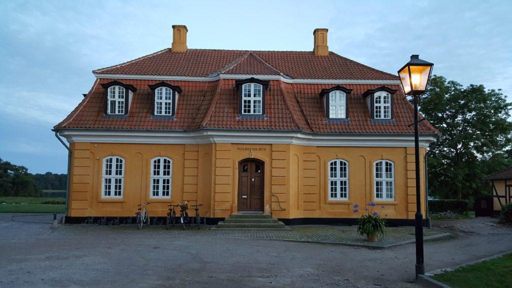 Un edificio del collegio di Søro_viaggio in danimarca di 5 o 6 giorni