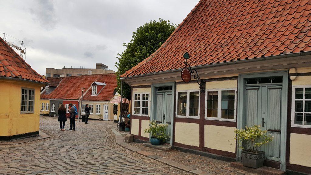 La casa natale di Andersen a Odense