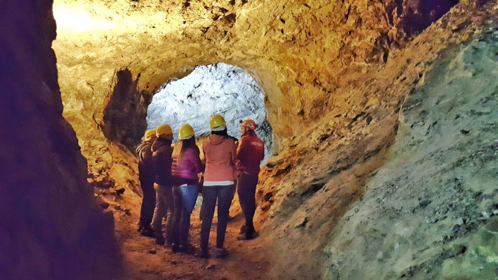 tour delle miniere di dossena con guida