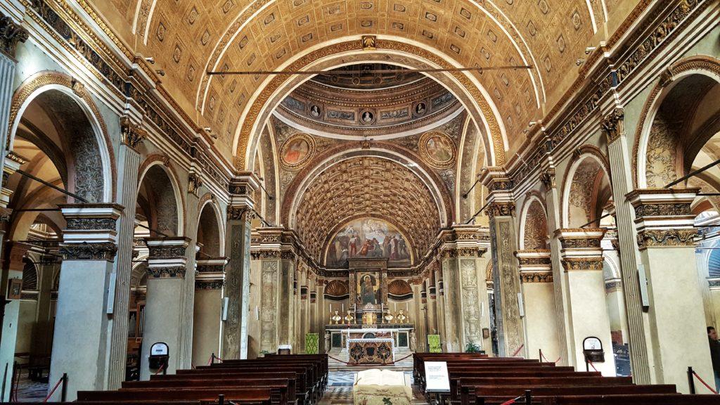 Chiesa di Santa maria presso san satiro_bramante_prospettiva