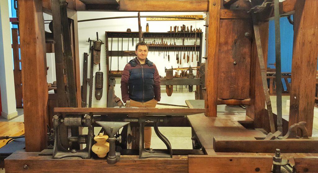 museo del falegname tino sana almenno san bartolomeo bergamo