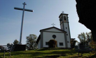 chiesetta di san giorgio albano sant alessandro fuochi artificio