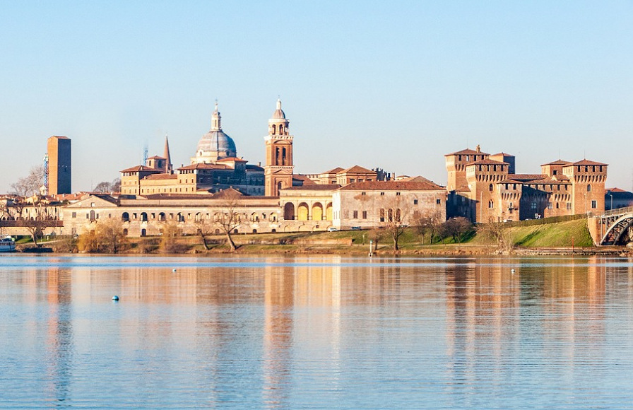 La città di Mantova nel Patrimonio dell'UNESCO della Lombardia