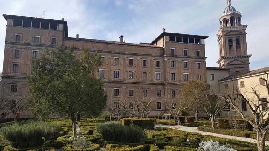 Giardini di Palazzo Ducale a Mantova