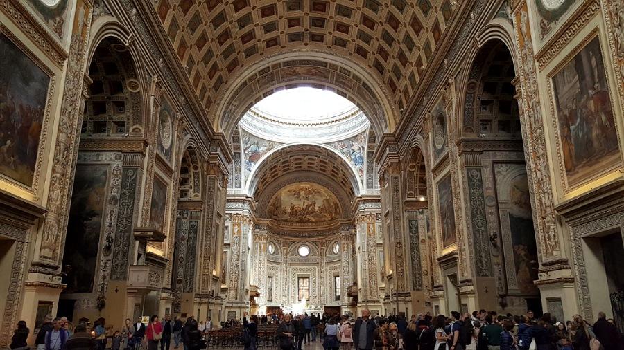 Navata della Basilica di Sant'Andrea a Mantova