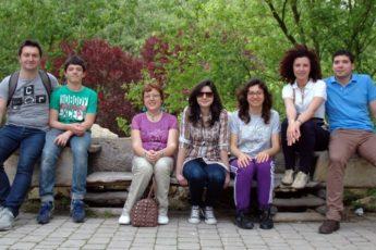 foto di gruppo parco natura viva