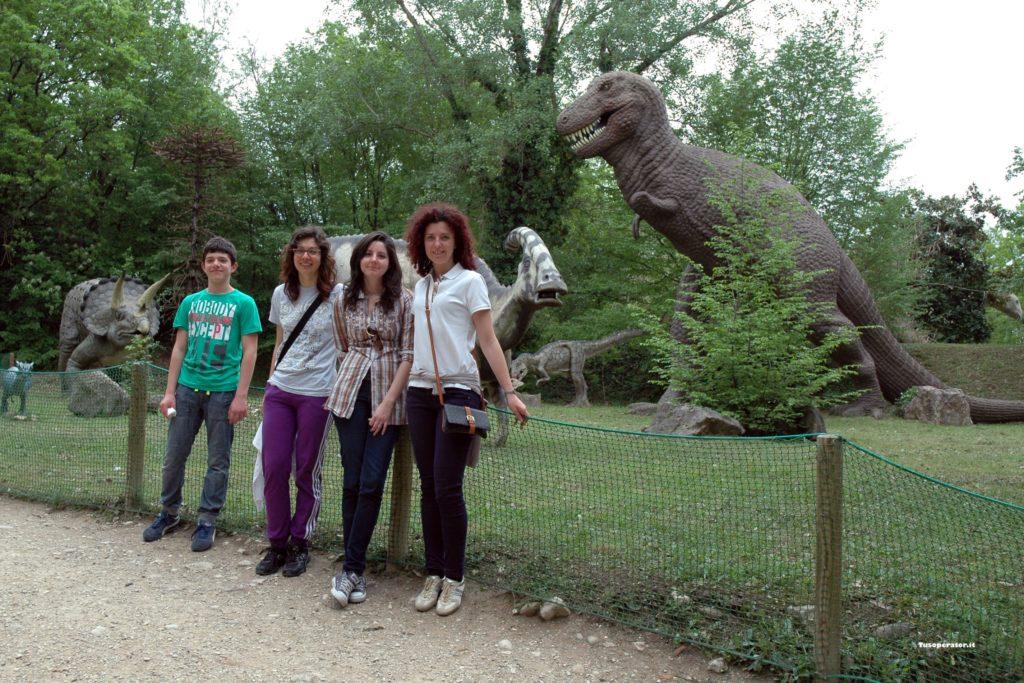 dinosauri Parco Natura Viva di Bussolengo
