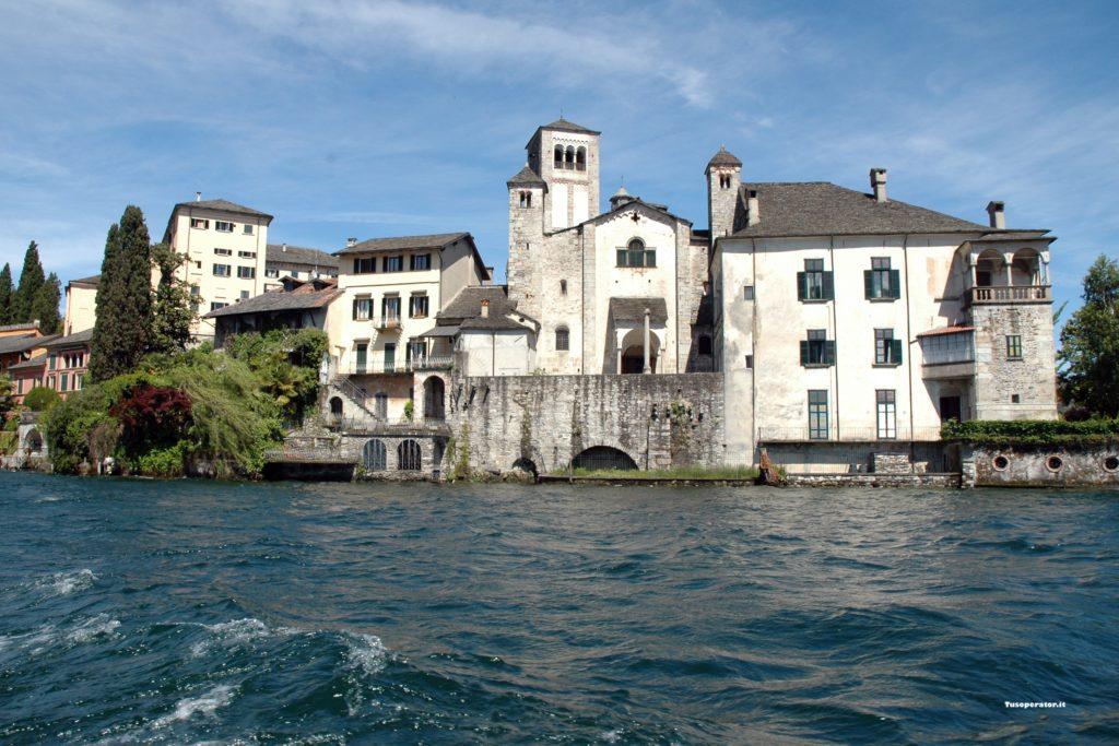 Lago d'Orta in una giornata