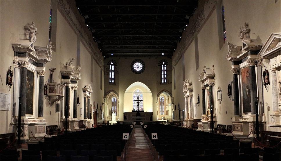 interno della chiesa di san francesco_cosa vedere a lucca