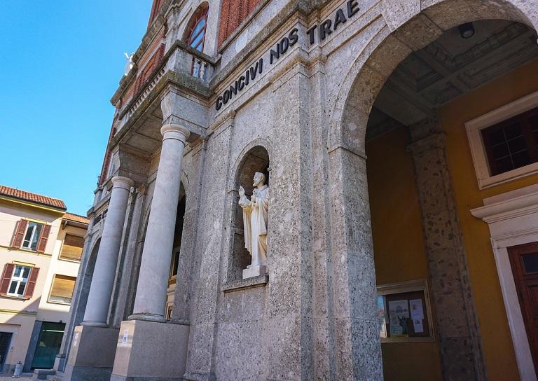 Basilica di Sant Antonio Abate e Santa Francesca Cabrini_sant'angelo lodigiano