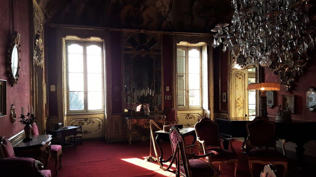 Visita alla Sala Rossa di Palazzo Terzi a Bergamo
