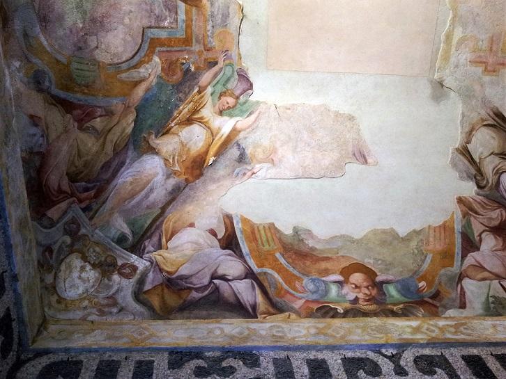 affreschi del ninfeo di villa litta a lainate
