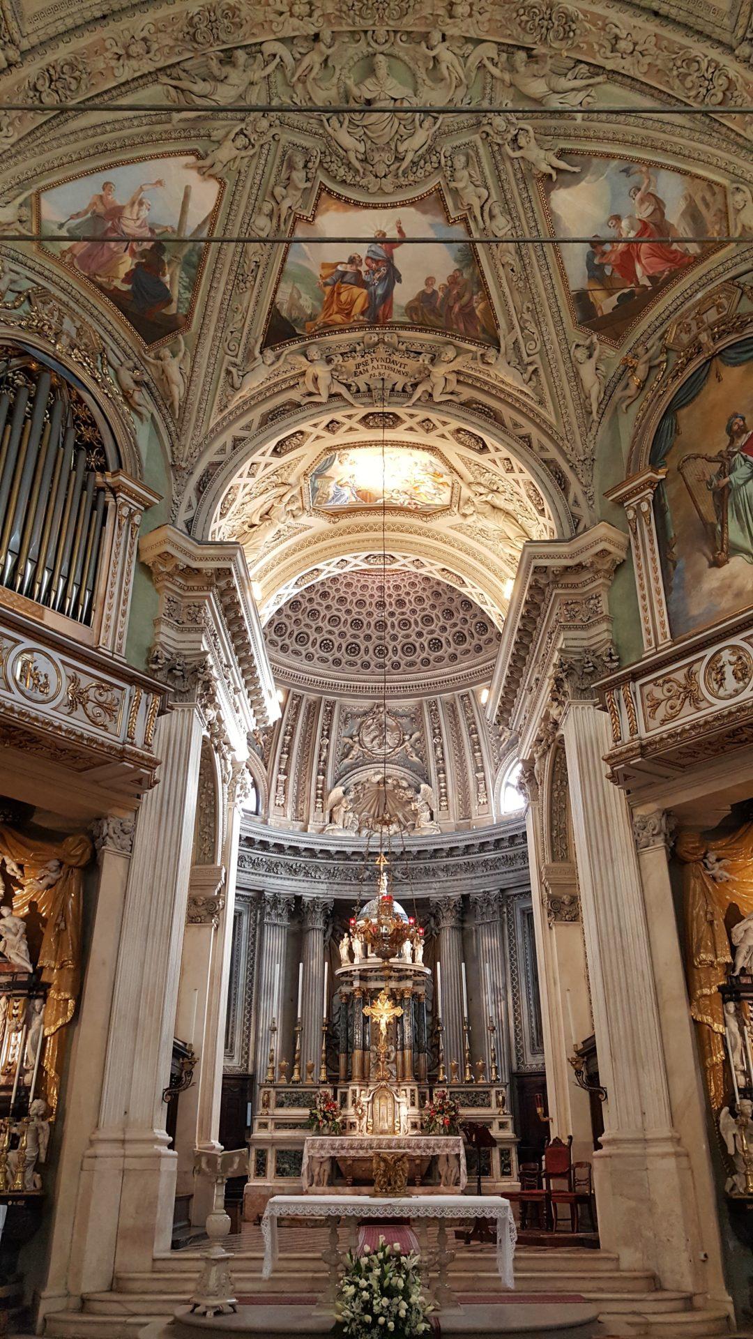 basilica san martino alzano lombardo sacrestie