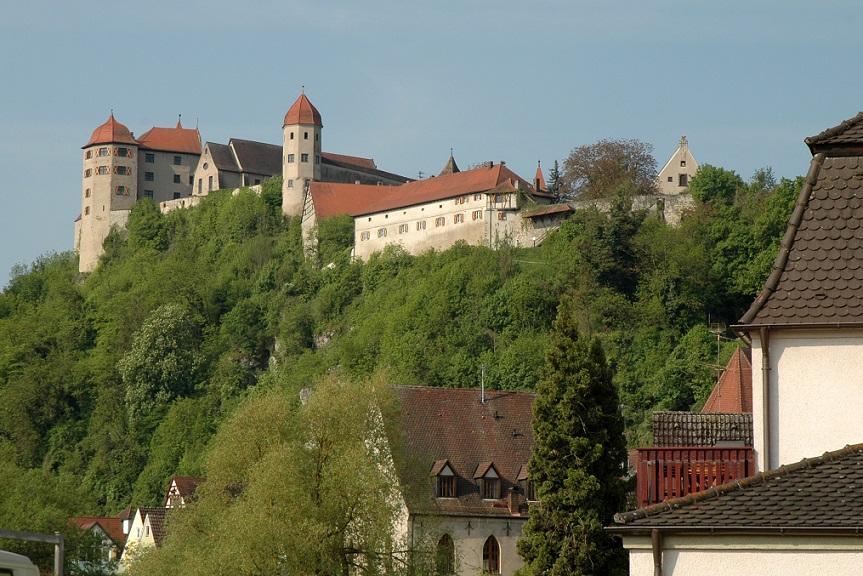 Il castello di Harburg sulla Romantische Strasse_cosa vedere in Baviera e Foresta Nera