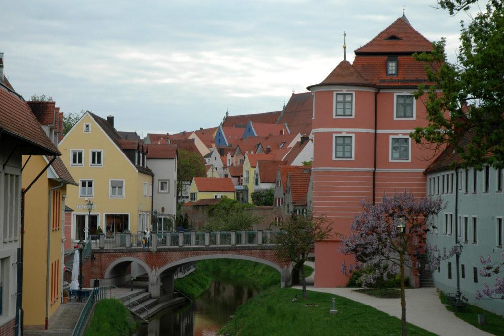 Case colorate a Donauworth sulla Romantische Strasse_cosa vedere