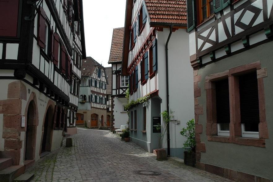 Vicoli di Schiltach, il borgo più bello della Foresta Nera