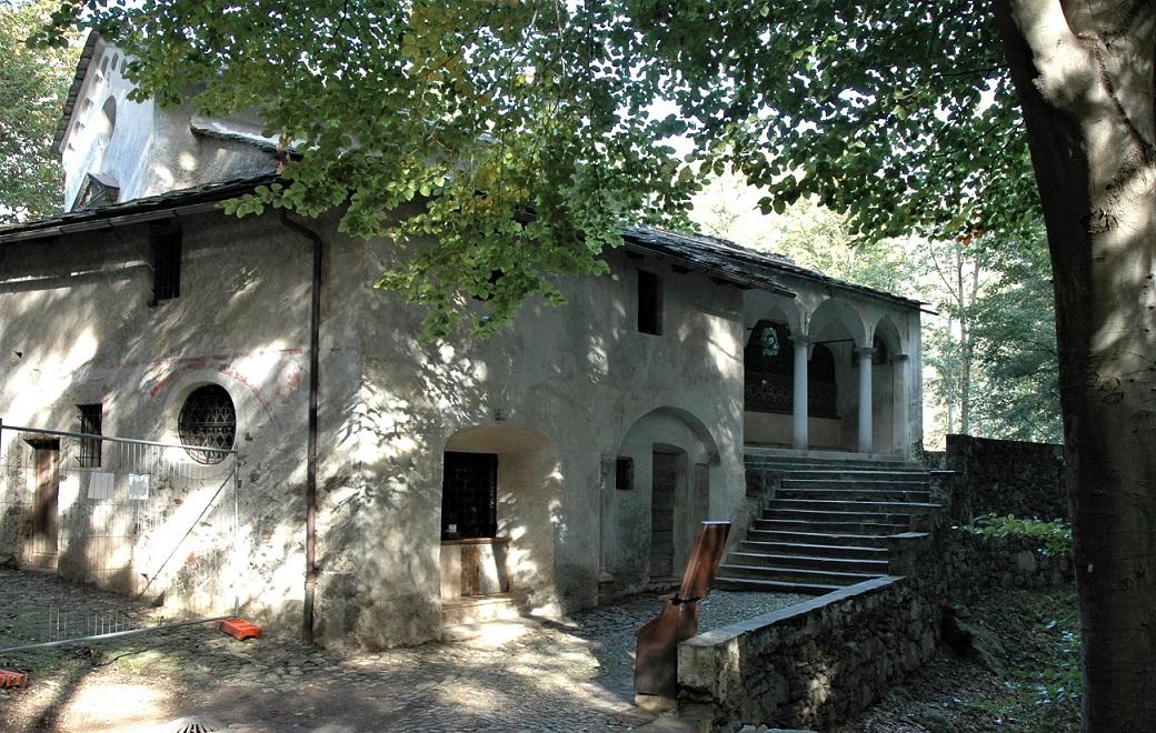 Una delle cappelle del Sacro Monte di Varallo_Sesia