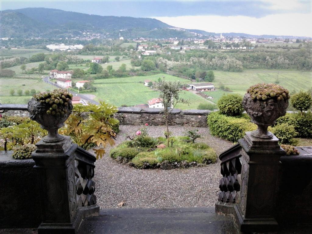 Giardini all'italiana del Castello di Castelli Calepio