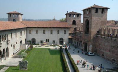 castle in verona