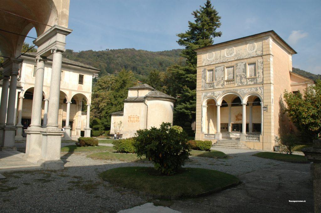 Alcune cappelle del Santuario di Varallo (Vercelli)