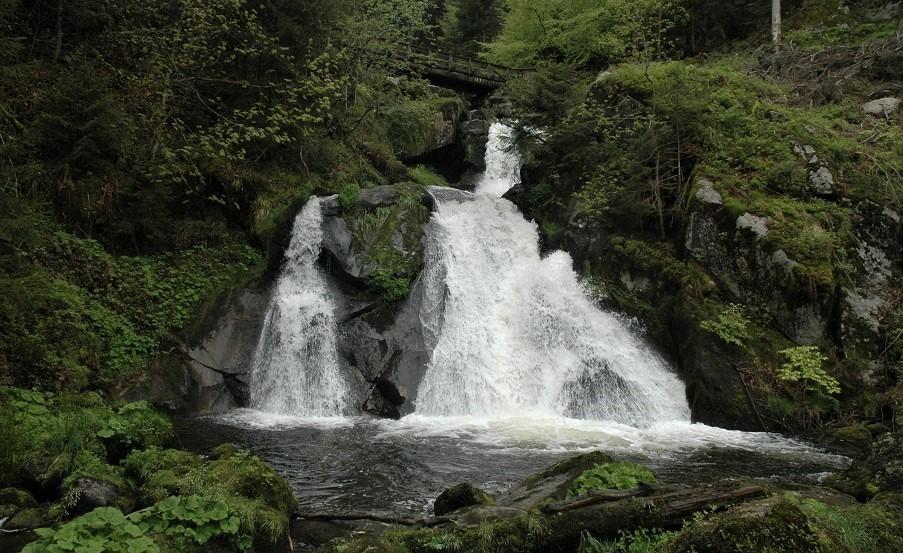 Cascata di Triberg_foresta nera
