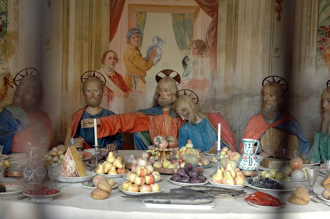 La cappella dell'Ultima Cena al Sacro Monte di Varallo a Sesia
