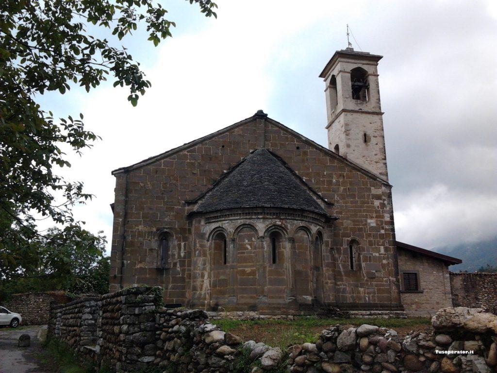 abside San Giorgio in Lemine almenno