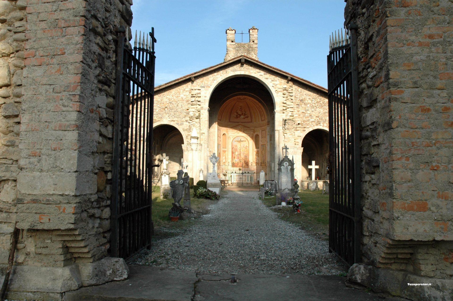chiesa santa giulia cimitero bonate